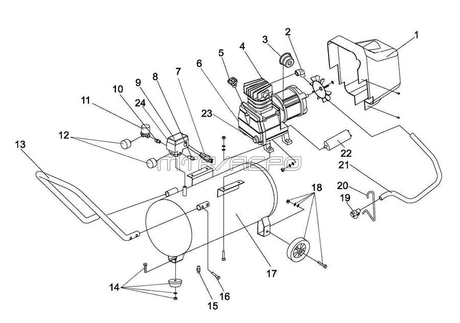 Bostitch Air Compressor Parts Diagram With Kaeser Air Compressor