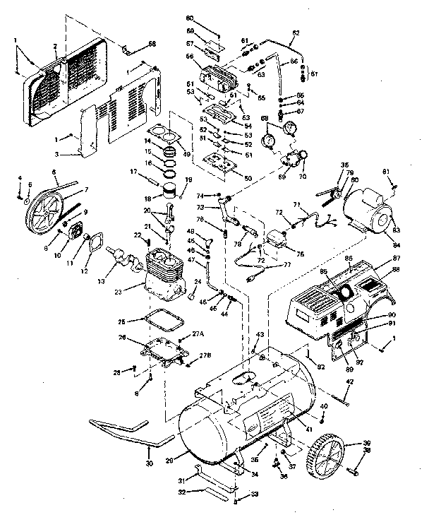 Air Compressor Pumps