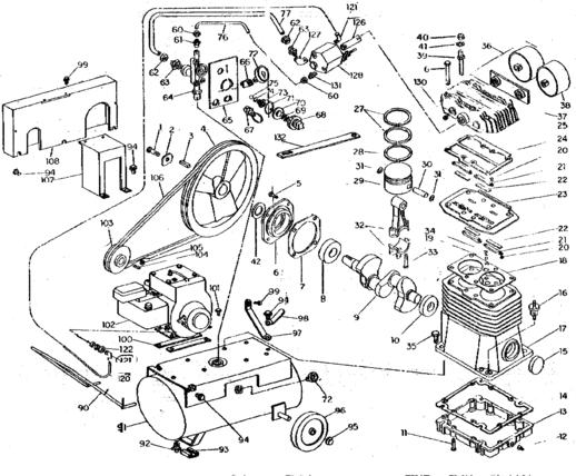 Air Compressor Pumps Coleman Sanborn 165 Pump Www