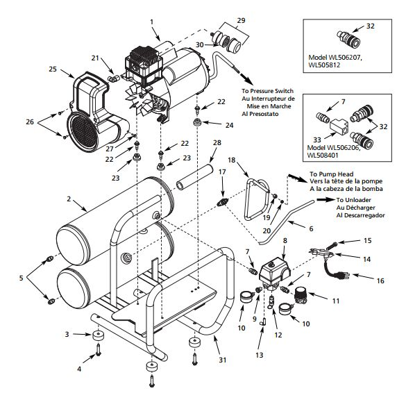 Air Compressor Pumps Campbell Hausfeld Compressors
