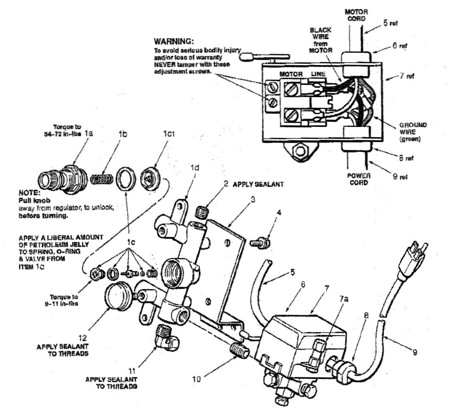 Sanborn Air Compressor Motors Wiring Diagram Simple For Craftsman Pumps New Coleman Powermate Pump Have A